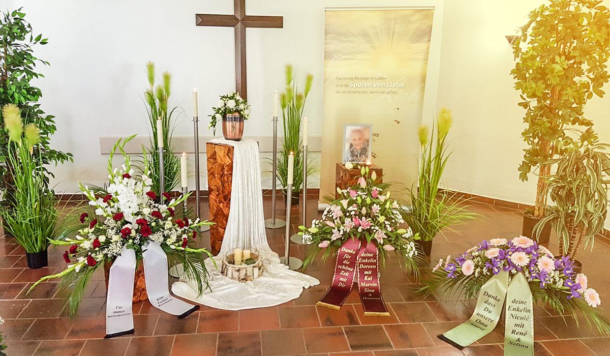 Bornkessel Bestattung Bestattungen Bestattungsinstitut Erfurt Stotternheim Gotha Abschied nehmen