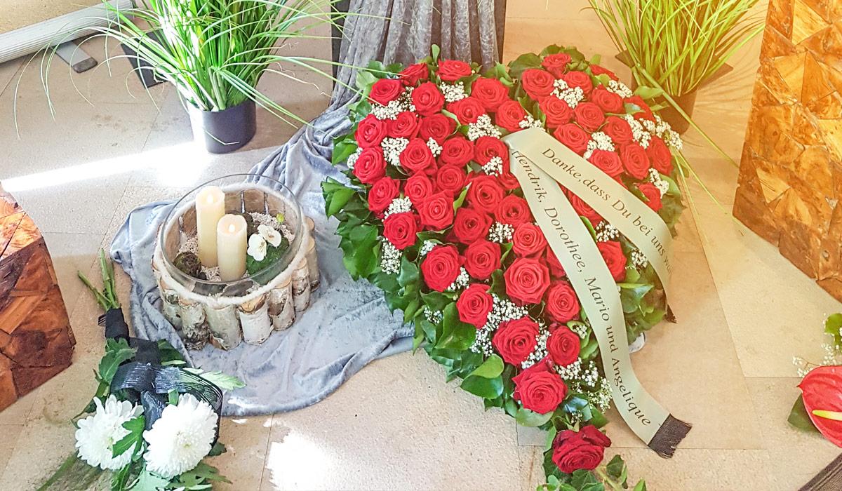 Bornkessel Bestattung Bestattungen Bestattungsunternehmen Erfurt Stotternheim Gotha Danksagung