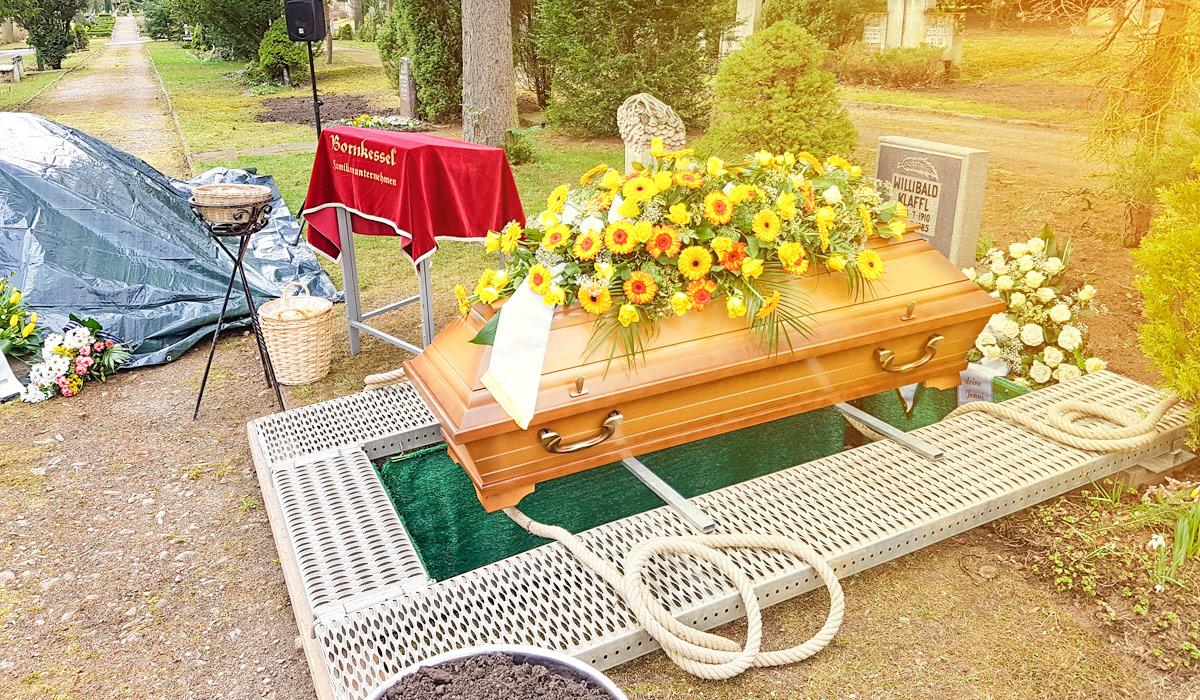 Bornkessel Bestattung Bestattungen Bestattungsinstitut Erfurt Stotternheim Gotha Vorsorgepakete